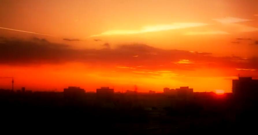 德国柏林城市灯光夜景延时拍摄 德国街景人文夜景 实拍视频素材