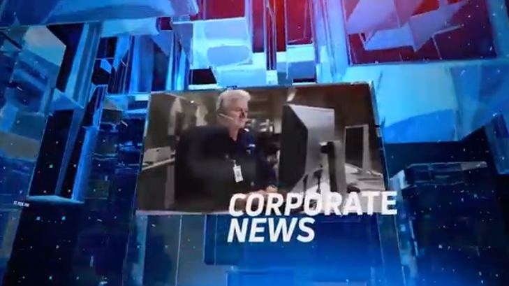 AE模板-立体空间玻璃方块企业公司幻灯片展示Glass Corporate