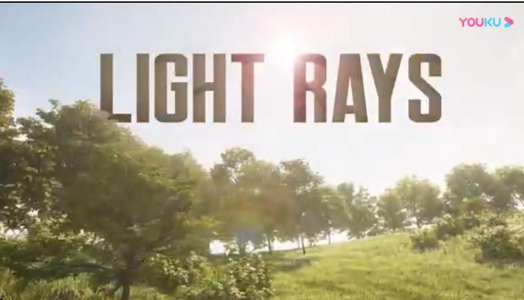 AE模板-酷炫丁达尔光效逆光射线特效工具 Light Rays