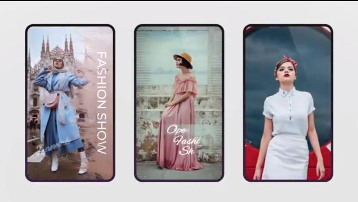AE模板-时尚Instagram故事V.8竖屏包装  Instagram Stories V.8