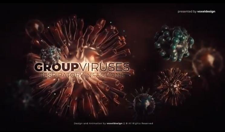 AE模板-新型冠状病毒瘟疫片头包装视频Corona Virus Opener