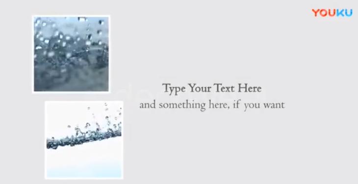 AE模板-唯美图文视频ae展示动画
