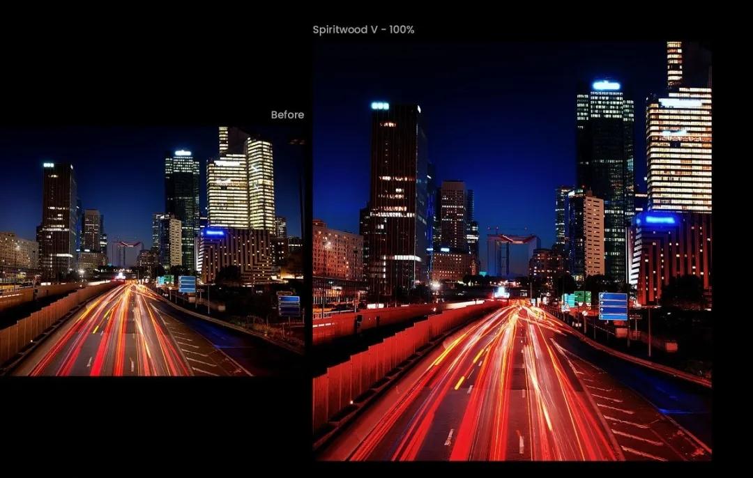 街头夜景星空摄影预设  精选43款高级效果