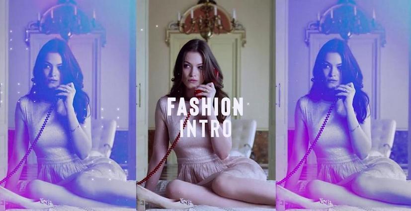 Premiere模板-节奏感超强的现代时尚彩色光晕效果视频模板