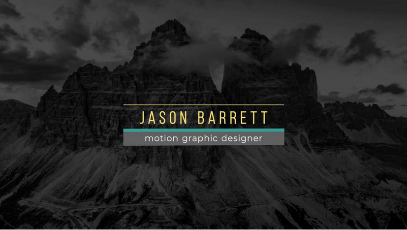 Premiere模板-MOGRT动态标题文字动画字幕条模板