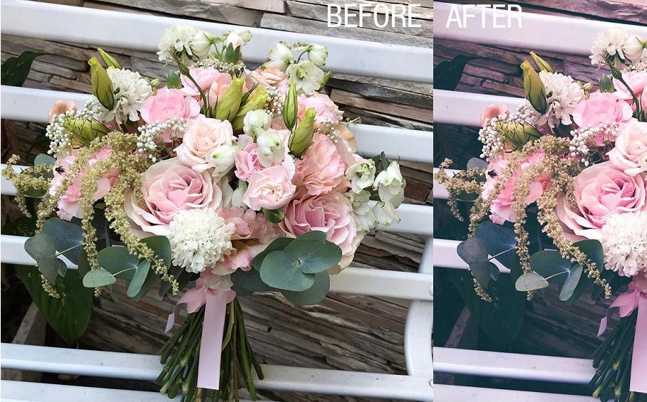 24个花卉花朵植物后期免费Lightroom预设