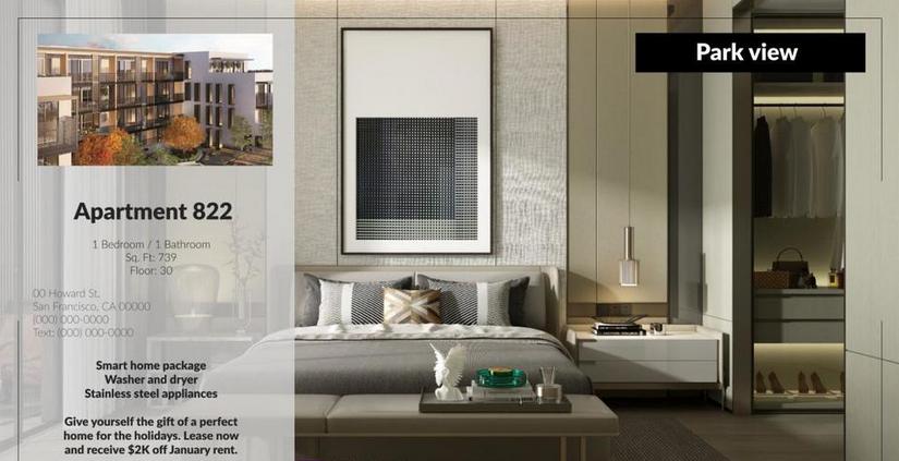 Premiere模板-简约实用房地产酒店公寓推广促销幻灯片视频模板