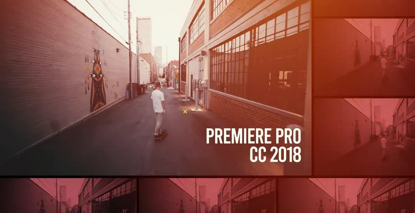 Premiere模板-时尚炫酷PR分屏多画面Vlog短片视频模板
