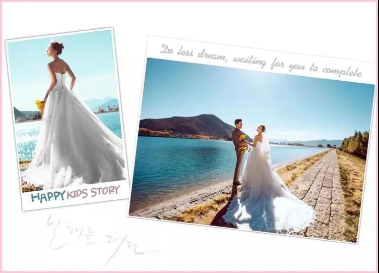 最新婚纱艺术模板PSD,内容一键替换