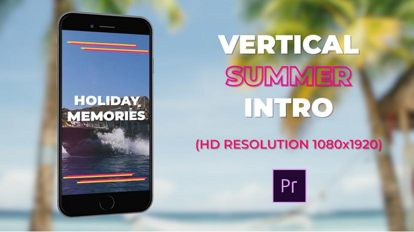 Premiere模板-Vlog户外旅游度假VCR采访记录生活日志短视频模板