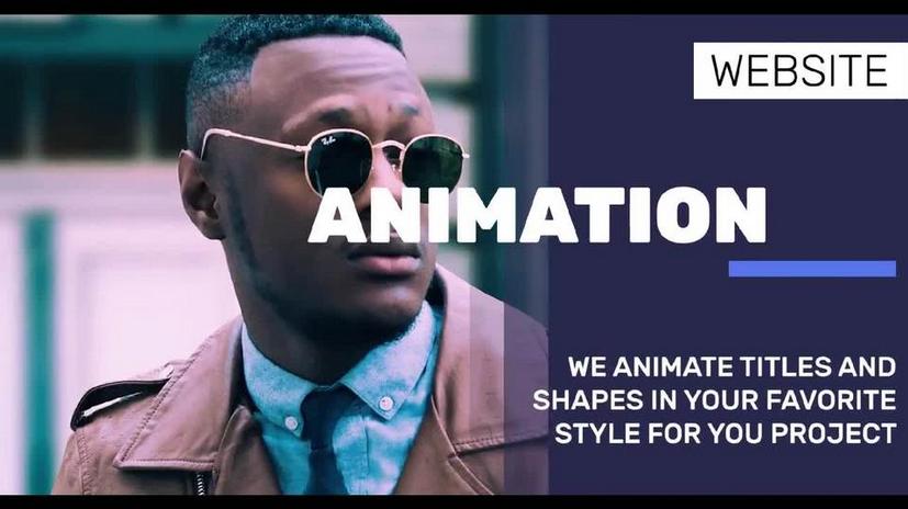 Premiere模板-企业商务风格幻灯片图文展示视频模板
