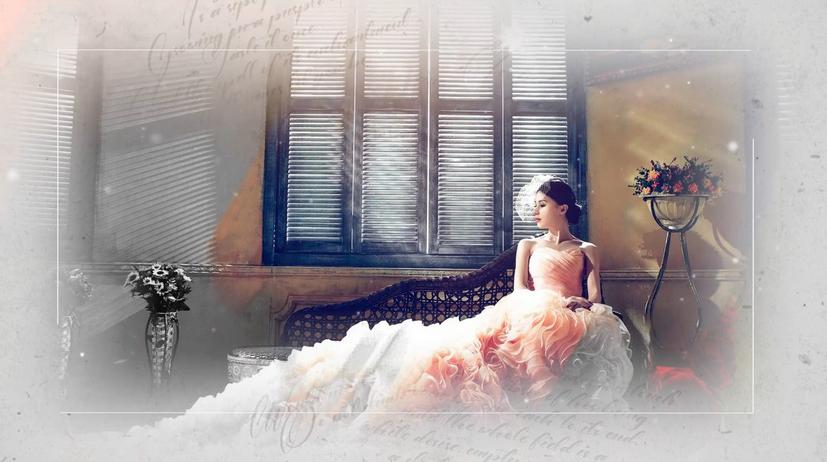 Premiere模板-浪漫回忆纪念日婚礼视频模板