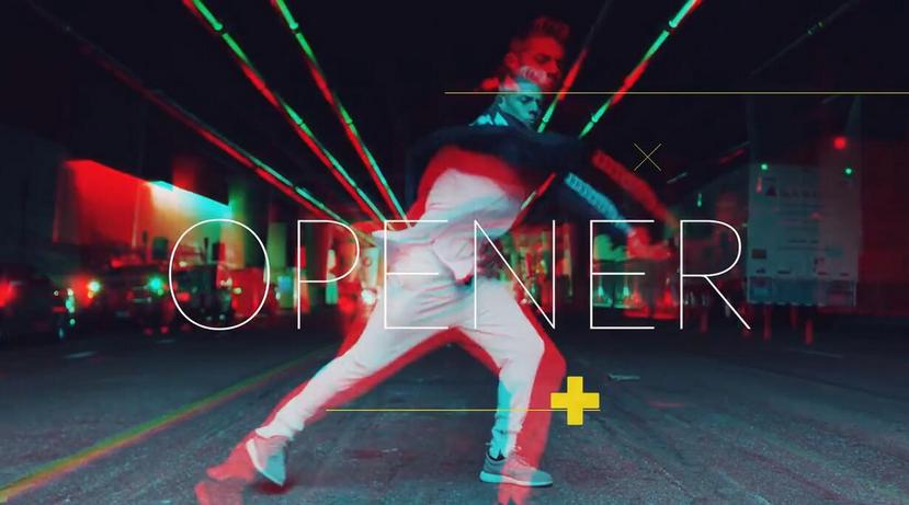 Premiere模板-舞蹈教学开场视频街舞社团宣传片模板