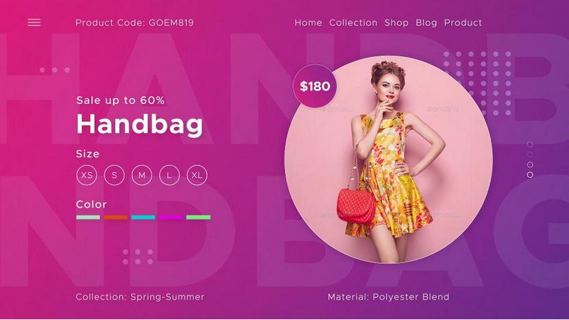 Premiere模板-淘宝店铺新品服装双十一促销宣传视频模板