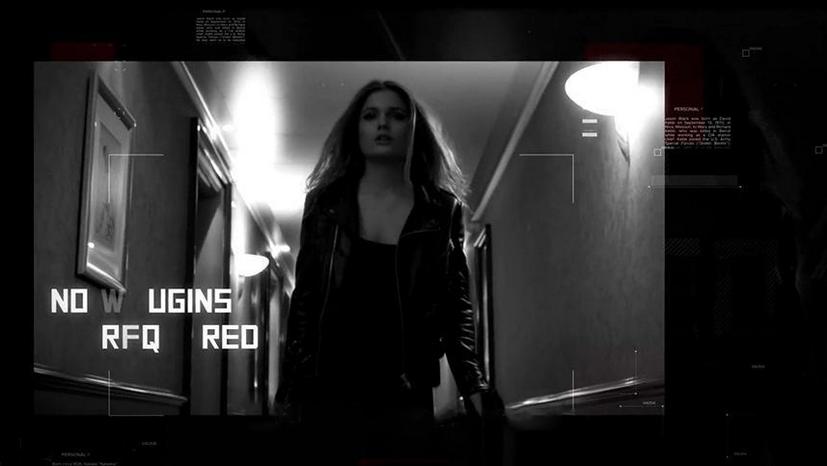 Premiere模板-高级黑红蓝抖动故障转场特效模板