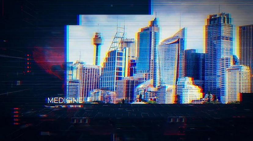 Premiere模板-科技企业大型会议年终总结开场视频模板