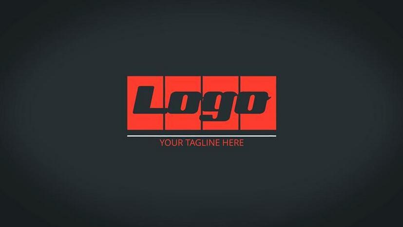 Premiere模板-8个简单常用的logo展示模板