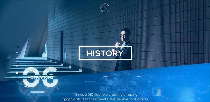 Premiere模板-科技企业宣传片商务展示视频模板