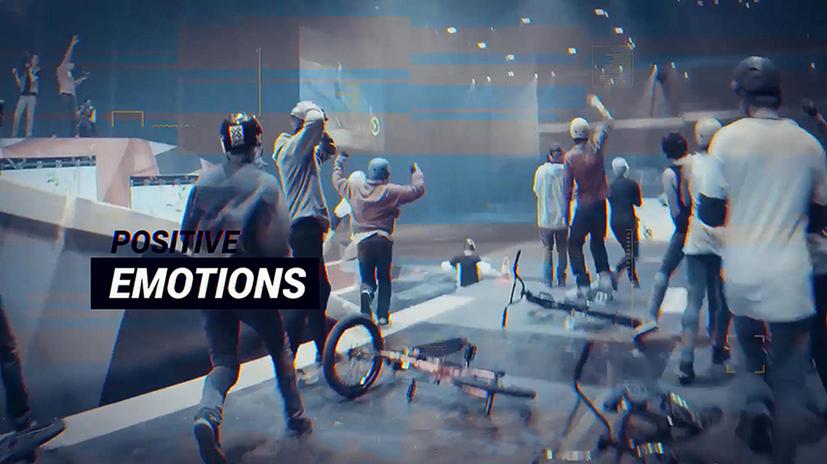 Premiere模板-跑步锻炼健身滑雪极限运动开场视频模板
