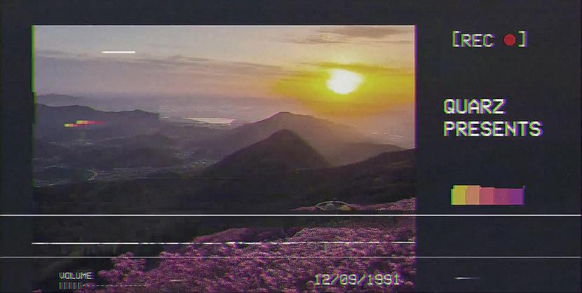Premiere模板-录像VCR特效时尚动感模板视频