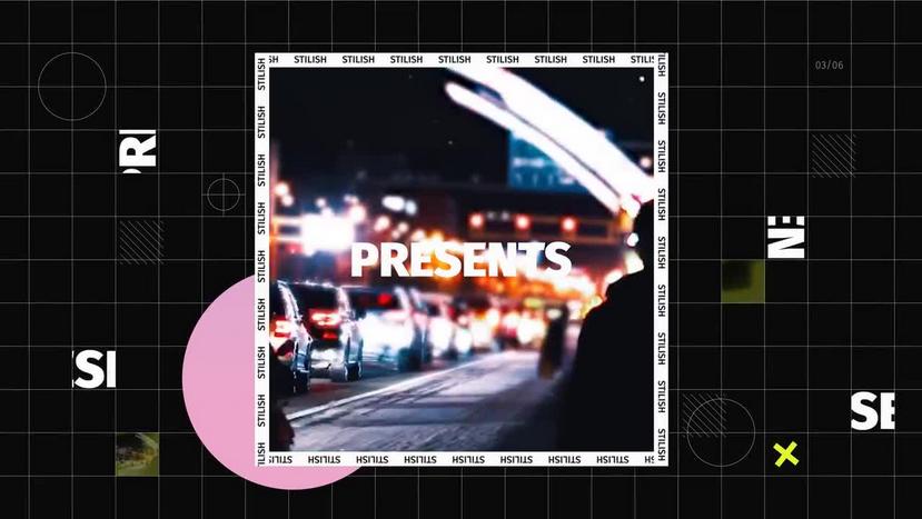 Premiere模板-超具创意设计感图文展示视频模板